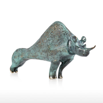 Rhinoceros Statue and Rhinoceros Gifts for Home Decor and Living Room Ideas