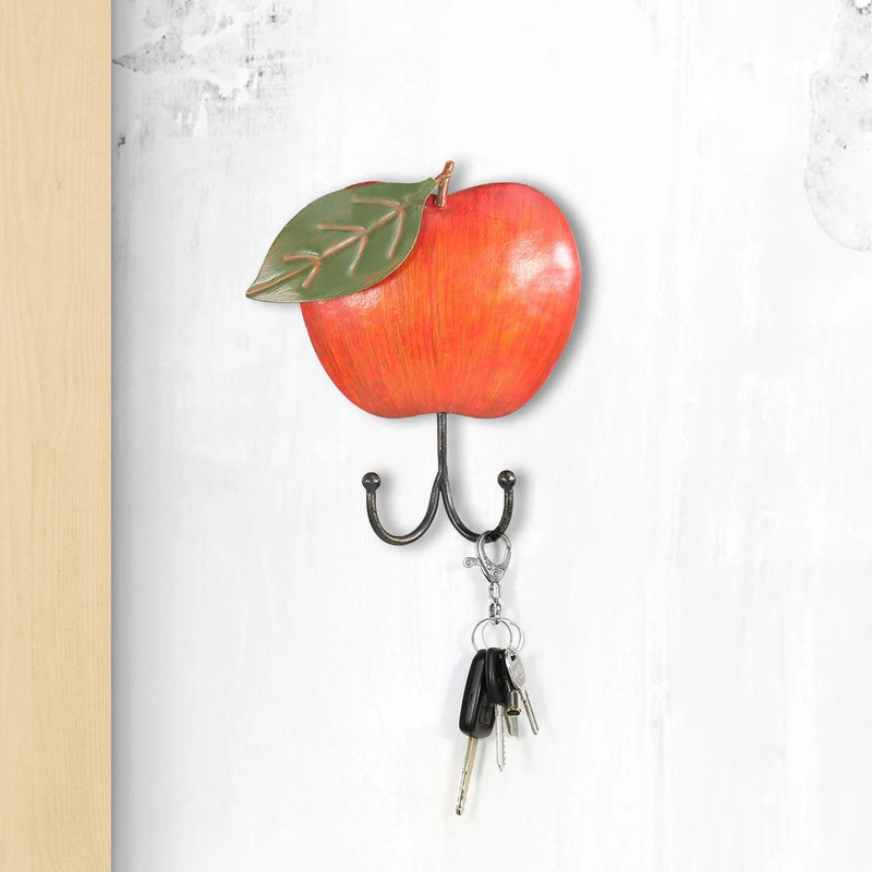 Rustic Apple Wall Hook For Coat Rack Wall Mounted