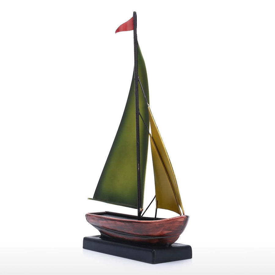 Sailboat Ornament and Sailboat Decor by Metal