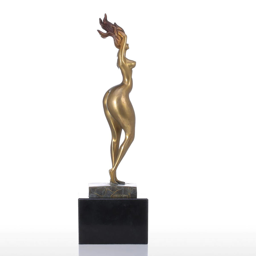 Sexy Aesthetic Woman Body Sculpture Decorative Object