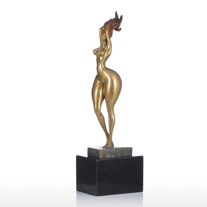 Sexy Nude Woman Sculpture