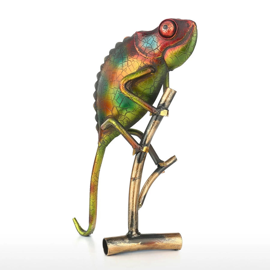 Small Lizard Statue as Ornaments and Home Decor