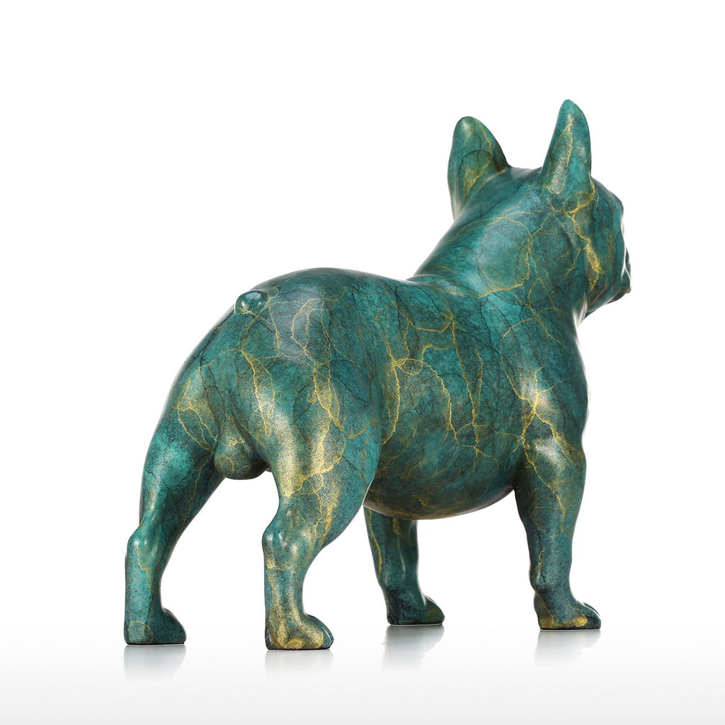 Special Christmas Gifts or Awesome Christmas Gifts  with French Bulldog Statue for Christmas Decorations