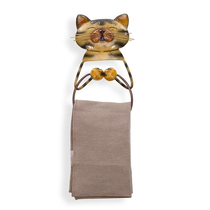 Toilet Paper Holder wih Wall Mount Paper Towel Holder inspired Cute Cats