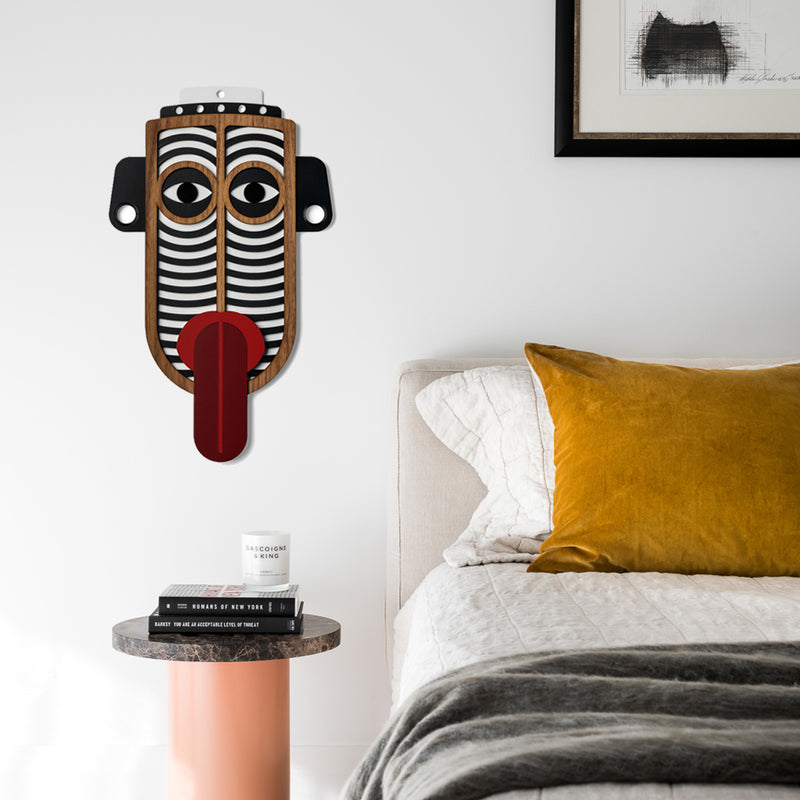 Tribal and African Masks by Wooden For Bedroom Wall Decor