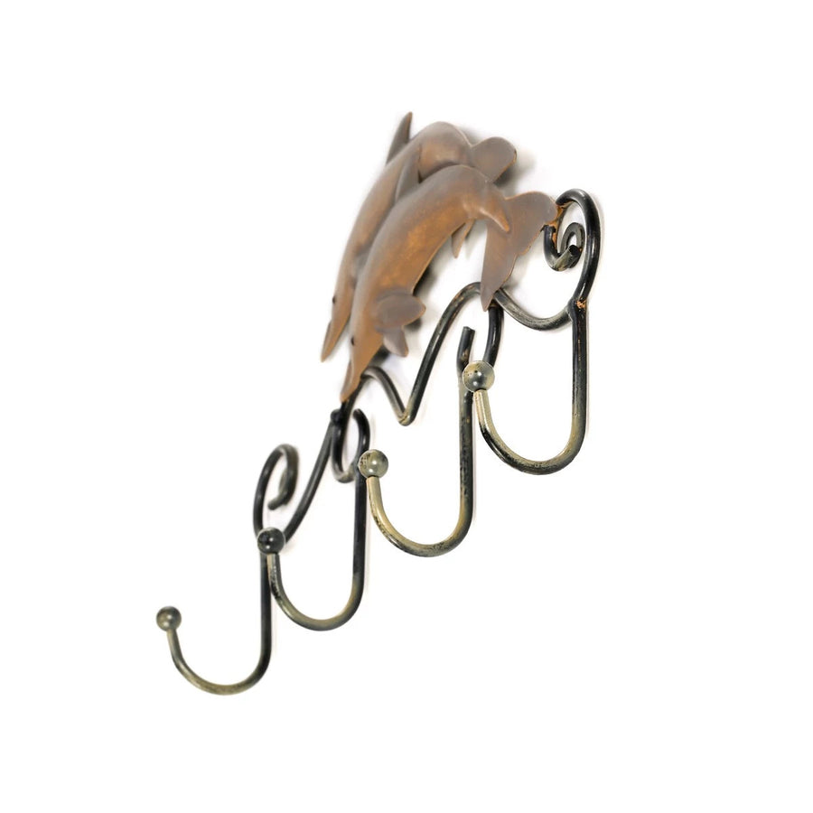 Wall Mounted Coat Rack & Hooks by Decorative Metal Art