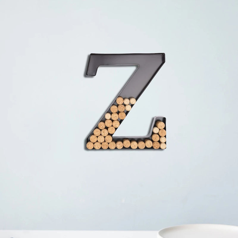 Wine Cork Holder and Gifts for Wine Lovers with Letter Wall Art