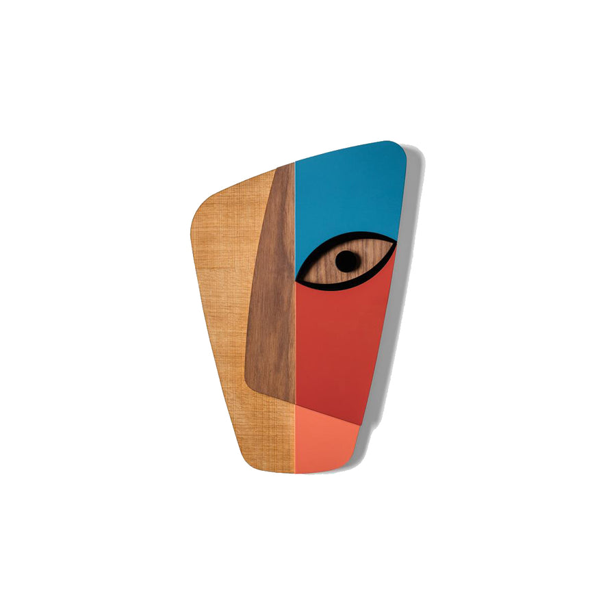 Picasso Face Abstract Passage on the Wall by Wood Wall Art