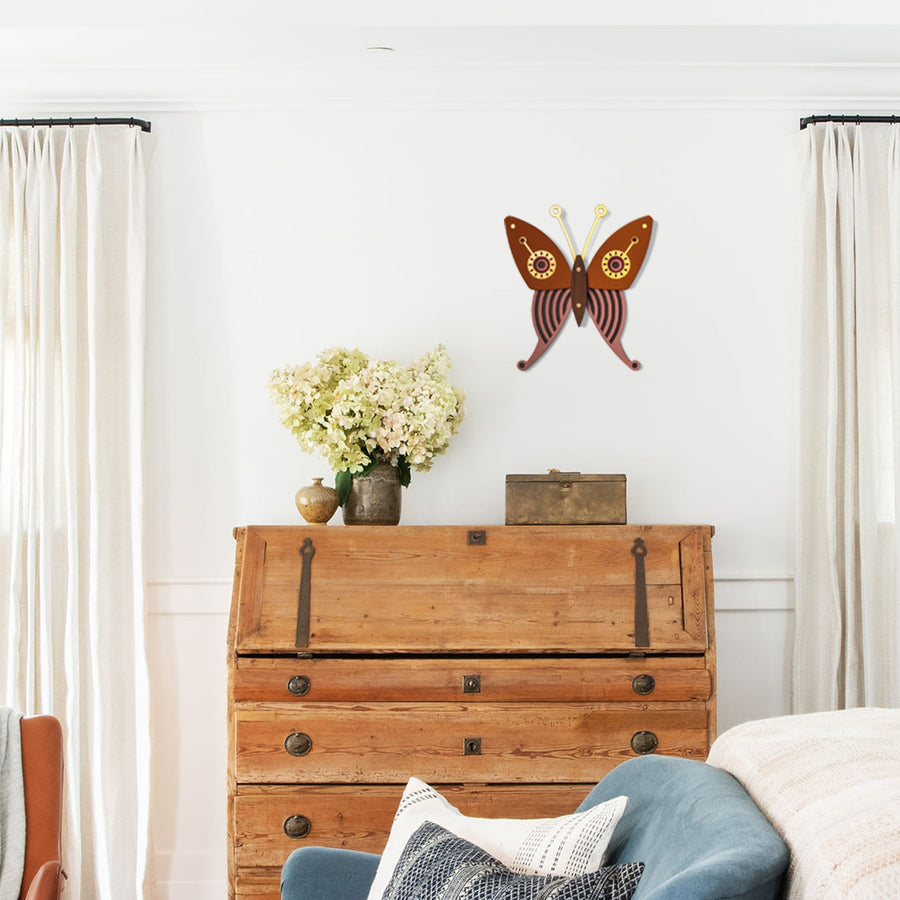 Wooden Butterflies to Hang on Wall as Poster or Decals