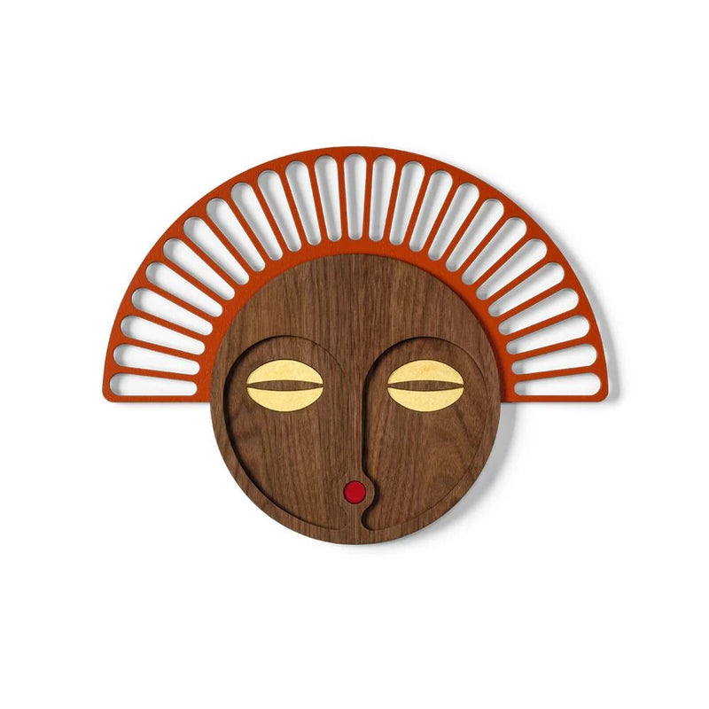 Wooden Wall Art African Wall Hanging Mask