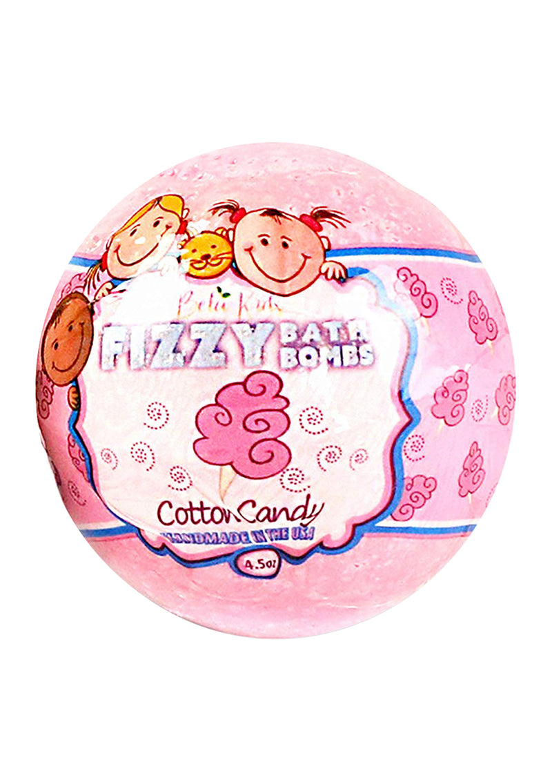 Bela Kids Fizzy Bath Bomb Cotton Candy 4.5 Oz