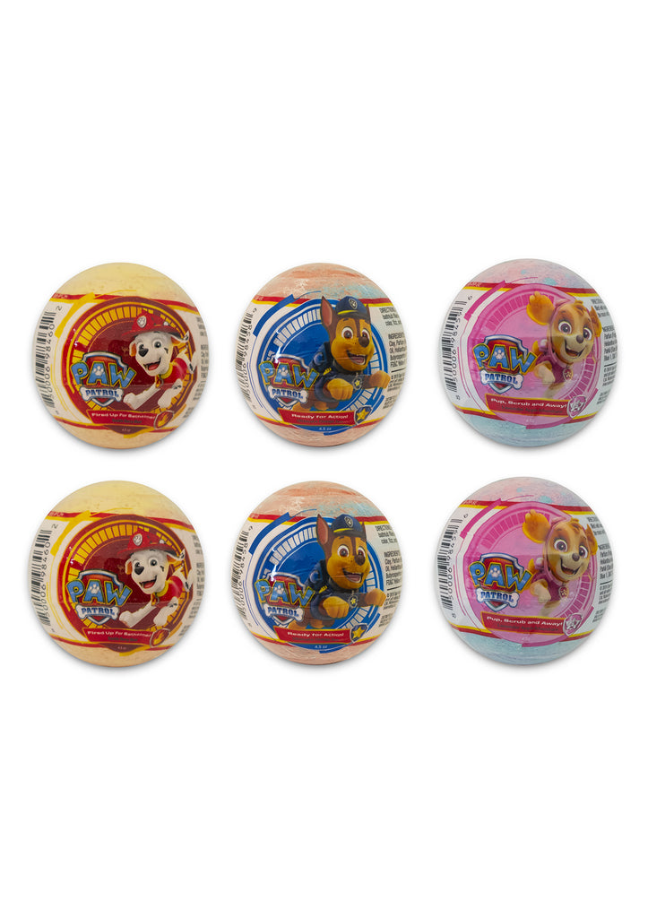 Nickelodeon PAW Patrol Bath Bombs - 6 Pack