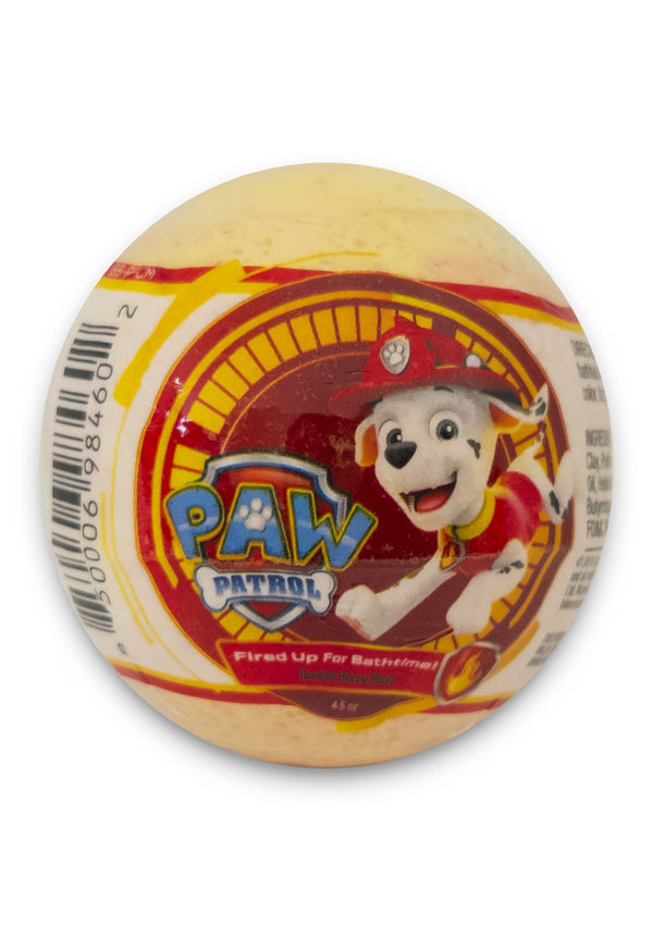 Nickelodeon PAW Patrol Kids Bath Bomb - Fired Up for Bath Time!