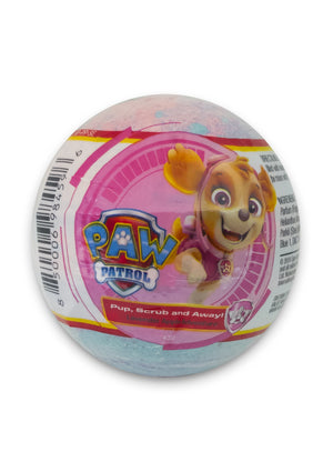 Nickelodeon PAW Patrol Kids Bath Bomb - Pup, Scrub and Away!