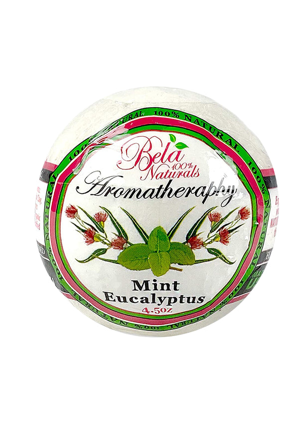Bela 100% Natural Bath Bomb Mint Eucalyptus 4.5 Oz
