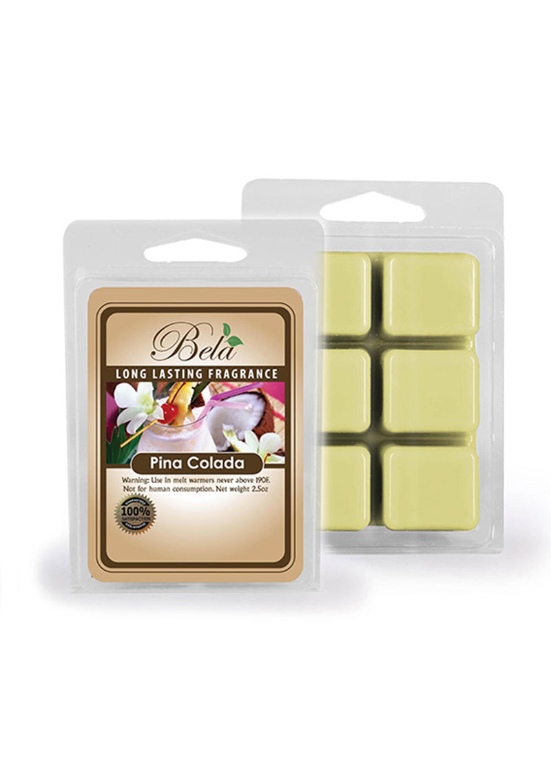 Bela Home Fragrance Pina Colada Wax Melts 2.5 Oz