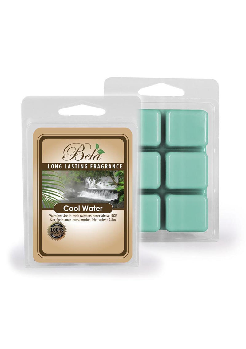 Bela Home Fragrance Cool Water Wax Melts 2.8 Oz