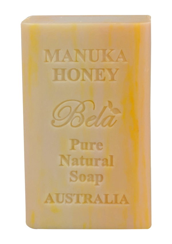 Bela 6.5 Oz Manuka Honey Natural Soap Bar