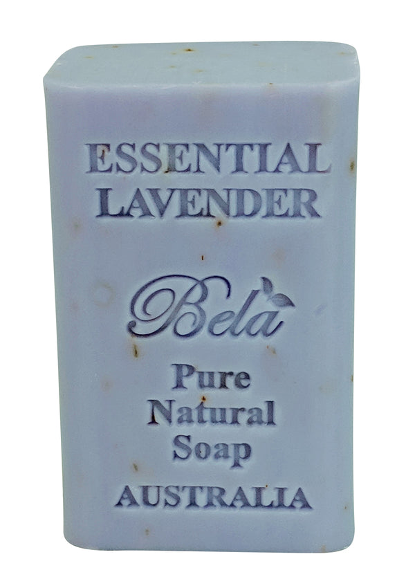 Bela 6.5 Oz Essential Lavender Natural Soap Bar