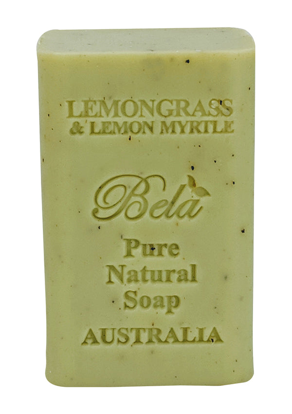 Bela 6.5 Oz Lemongrass & Lemon Myrtle Natural Soap Bar