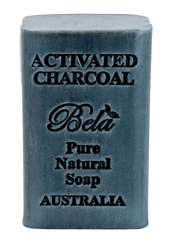 Bela 6.5 Oz Activated Charcoal Natural Soap Bar