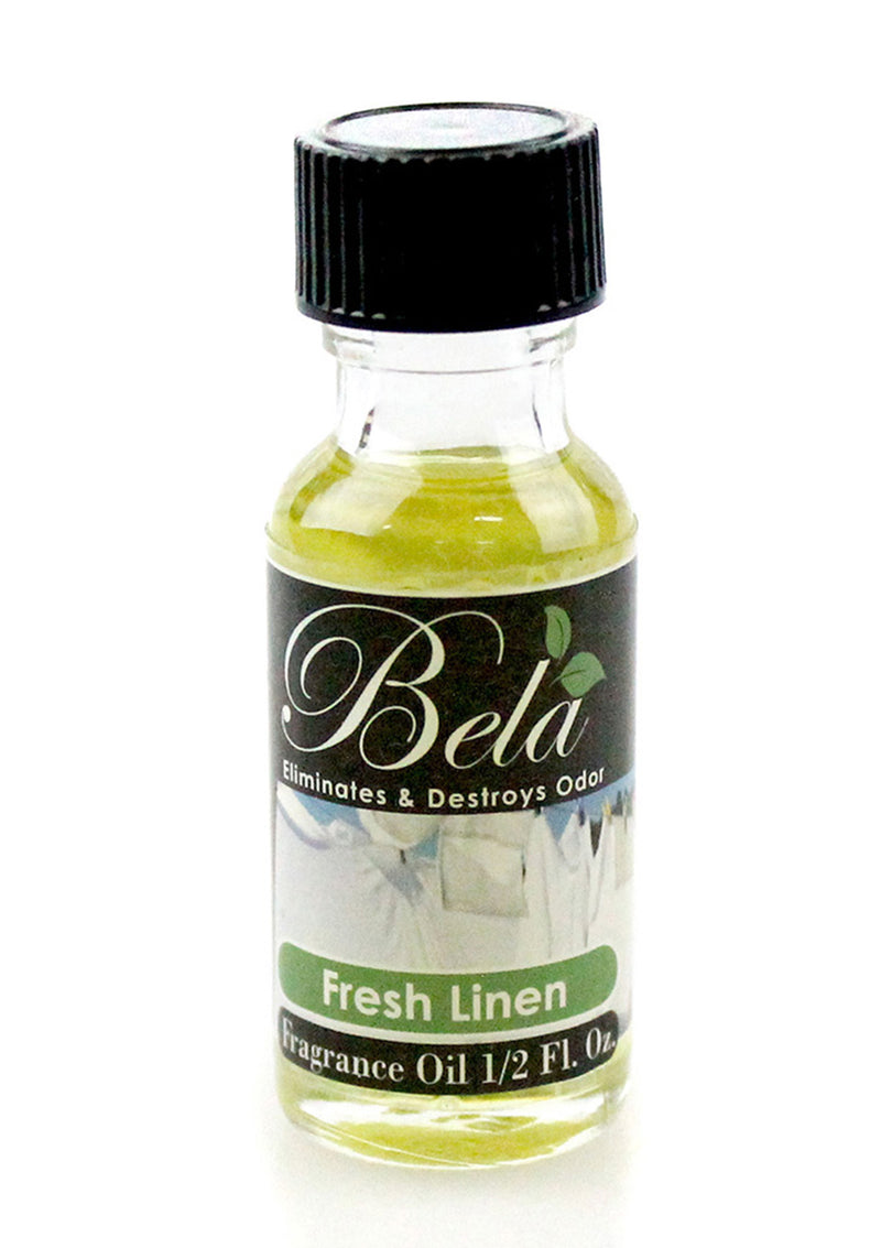 Bela Fresh Linen Home Fragrance Oil 0.5 Oz Bottle