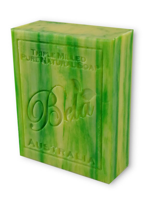 Bela 3.5 Oz Pineapple, Coconut and Lime Natural Soap Bar