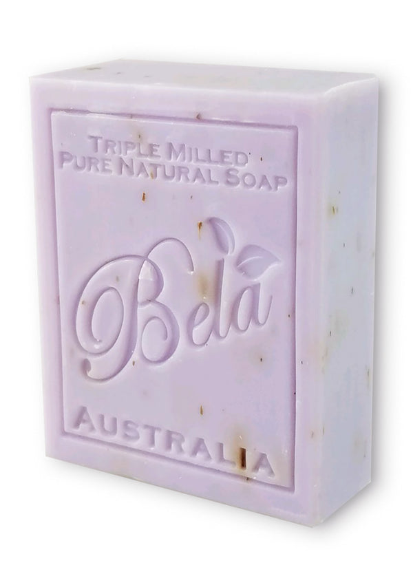 Bela 3.5 Oz Lavender & Flower Natural Soap Bar