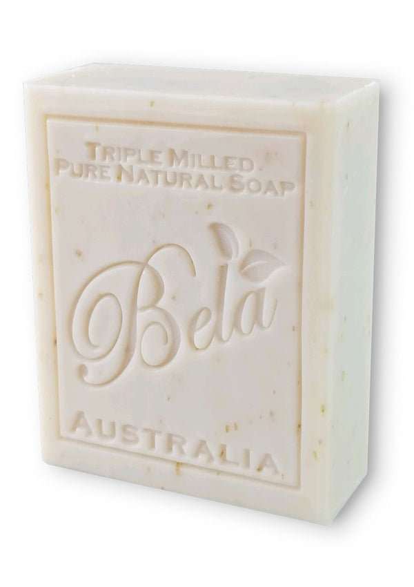 Bela 3.5 Oz Oatmeal, Milk & Bran Natural Soap Bar