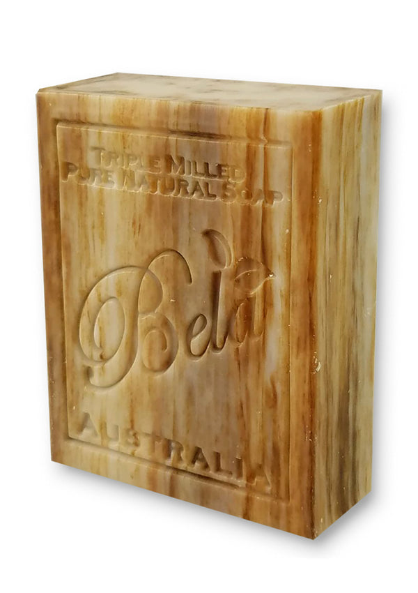 Bela 3.5 Oz Sandalwood Natural Soap Bar