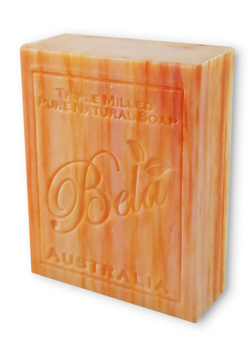Bela 3.5 Oz Orange Zest Natural Soap Bar