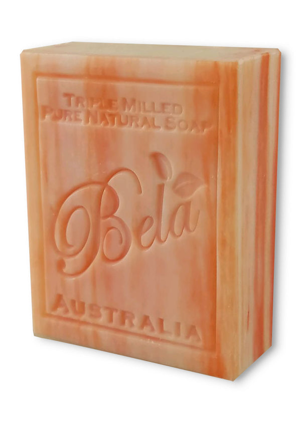 Bela 3.5 Oz Romantic Gardenia Natural Soap Bar