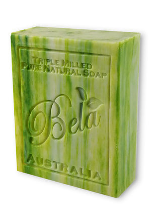 Bela 3.5 Oz Olive Oil with Cocoa Butter Natural Soap Bar