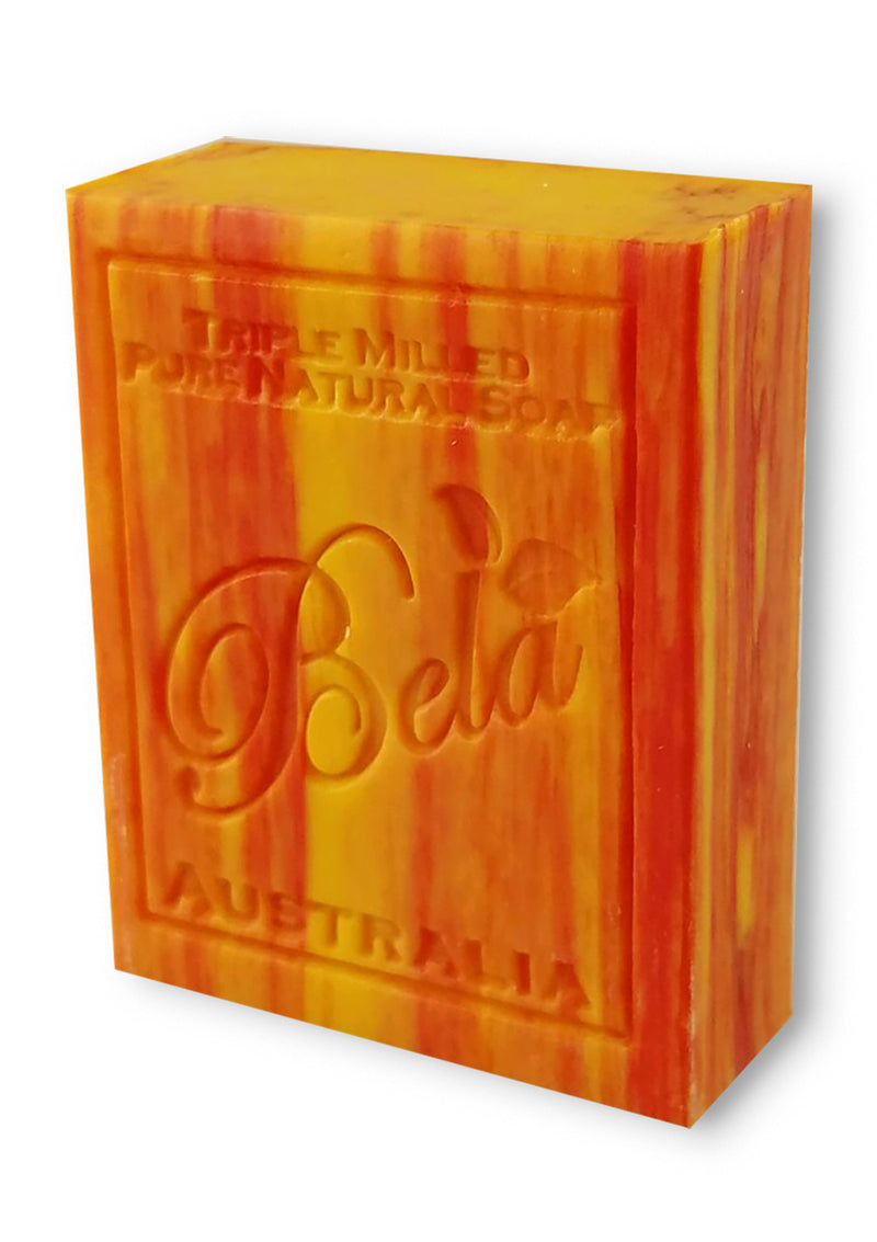 Bela 3.5 Oz Peach Natural Soap Bar
