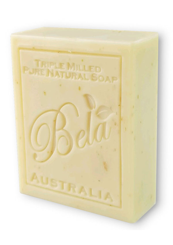 Bela 3.5 Oz Almond Natural Soap Bar