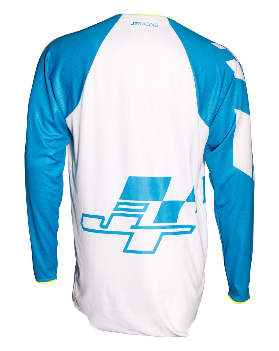 HYPERLITE CHECKER JERSEY - CYNWHTYLW