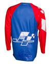 HYPERLITE CHECKER JERSEY - RWB