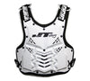 V1K CHEST PROTECTOR - WHITE/BLACK