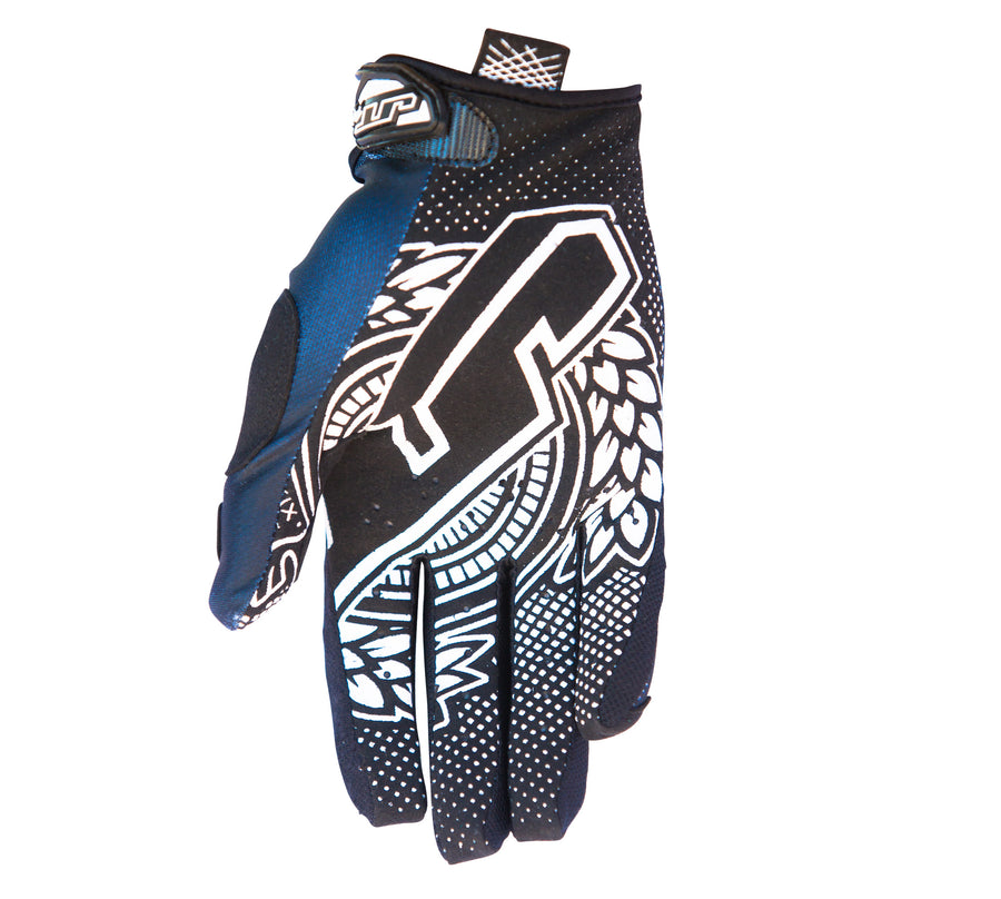 YOUTH LITE TURBO GLOVE - BLACK/WHITE