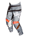 YOUTH FLEX HI-LO  PANT- GRY/BLK