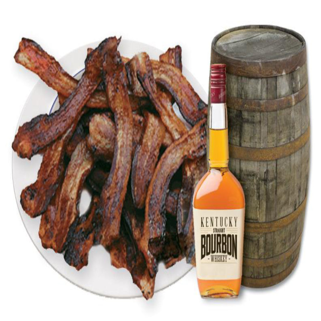 4-Pack Father's Bourbon Flavored Bacon - CBBFS4