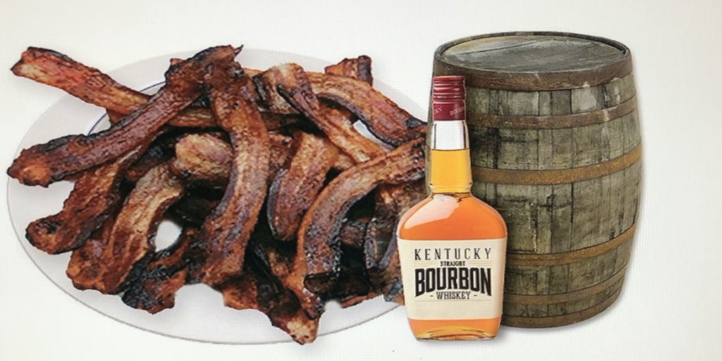 Bourbon Bacon pound cooked