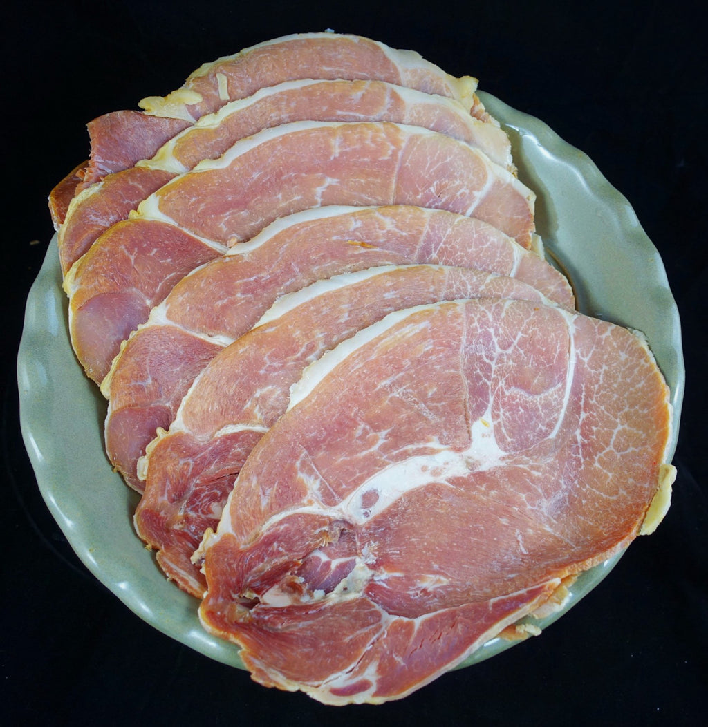 Father's Cooked Country Ham Sliced Thin - 8 to 9 lbs. - CCH8S