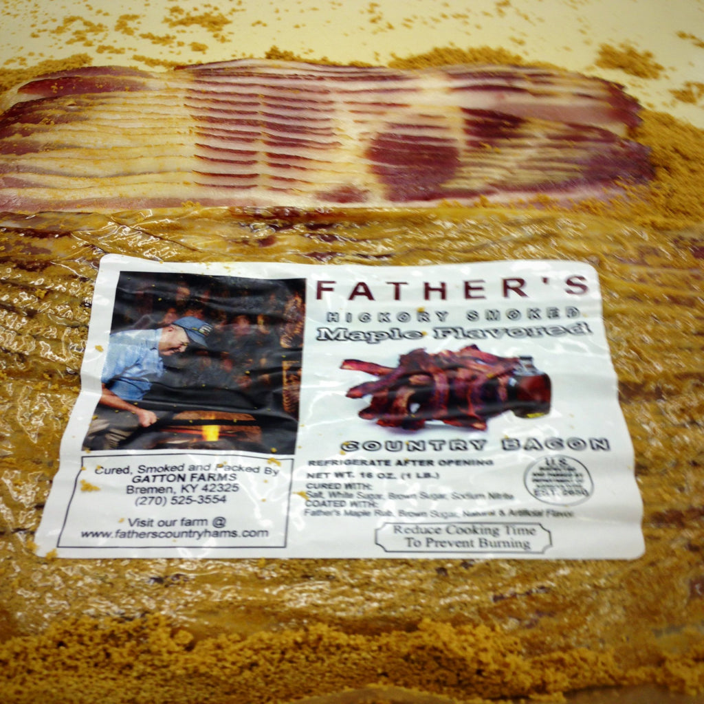 Fathers Maple Flavored Bacon 4 Pack - CBMS4