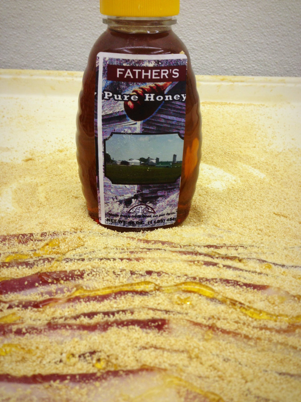 4-pack Father's Honey GLazed Country Bacon - CBHS4