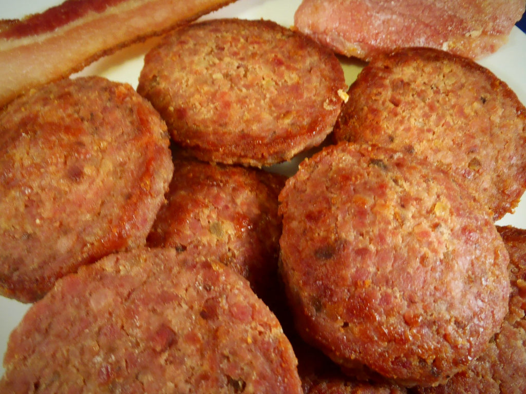 Fathers Country Ham & Bacon Patty 1lb - CHBP