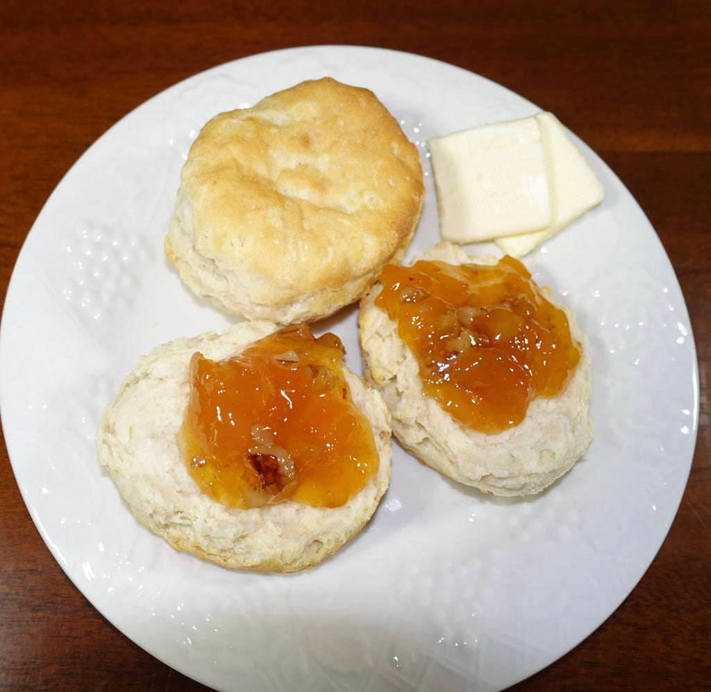 Old Fashioned Southern Peach Pecan Preserves - SPP
