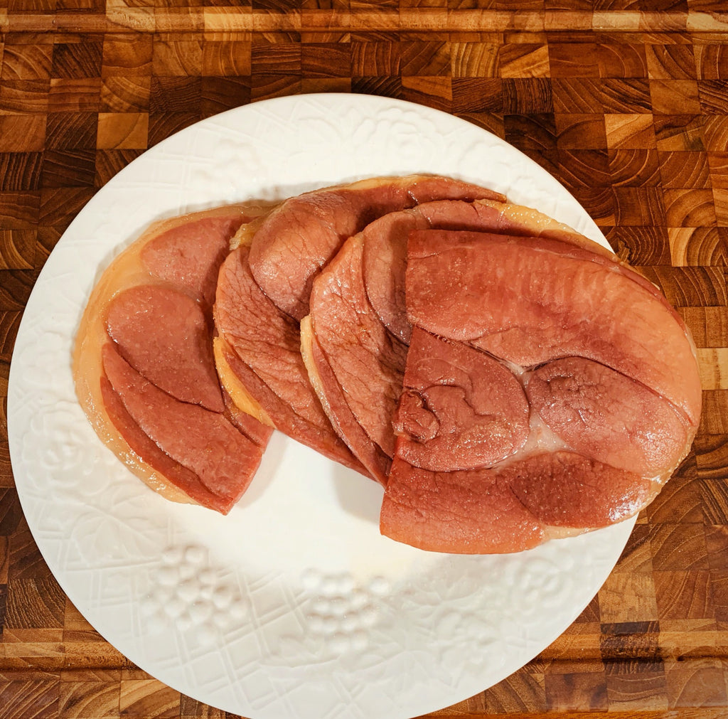 Tender Cooked Boneless Country Ham Slices