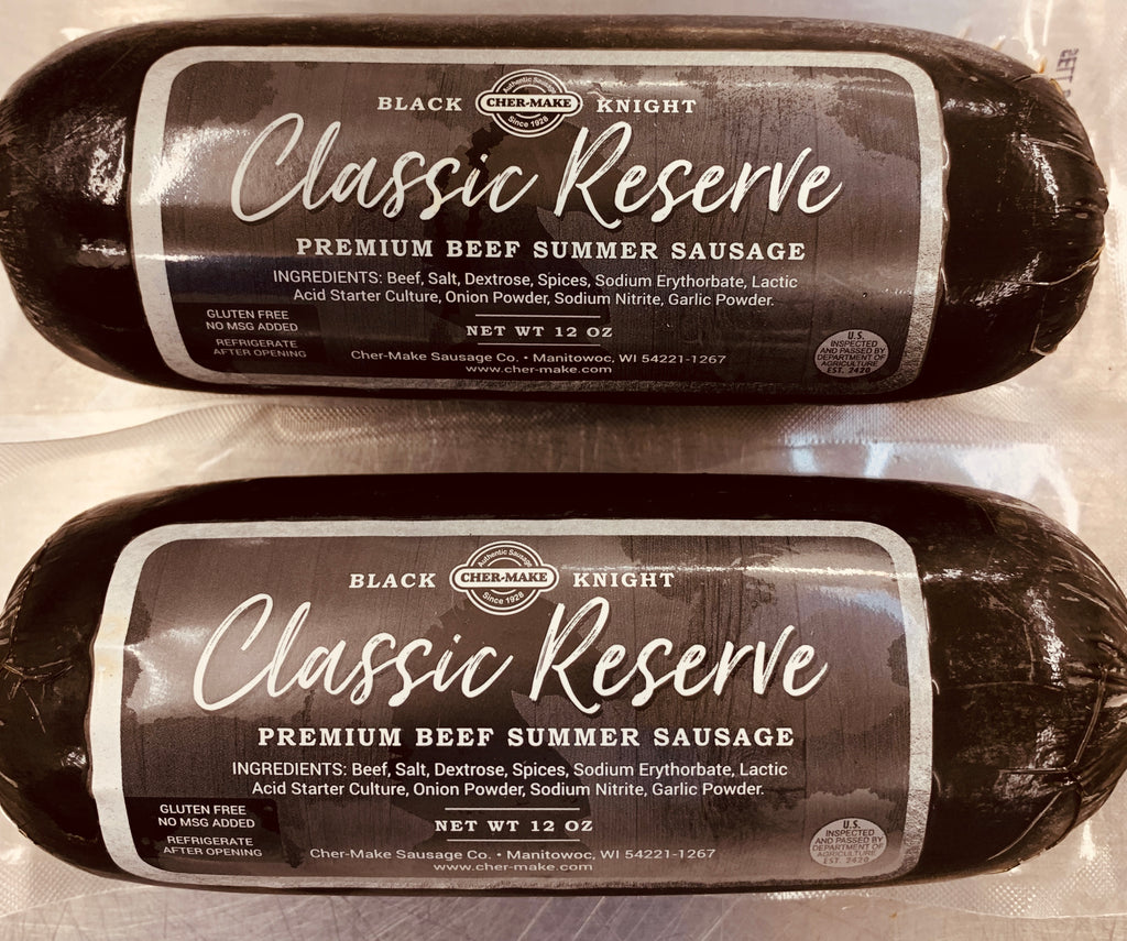 Black Knight Premium Summer Sausage - BKSS