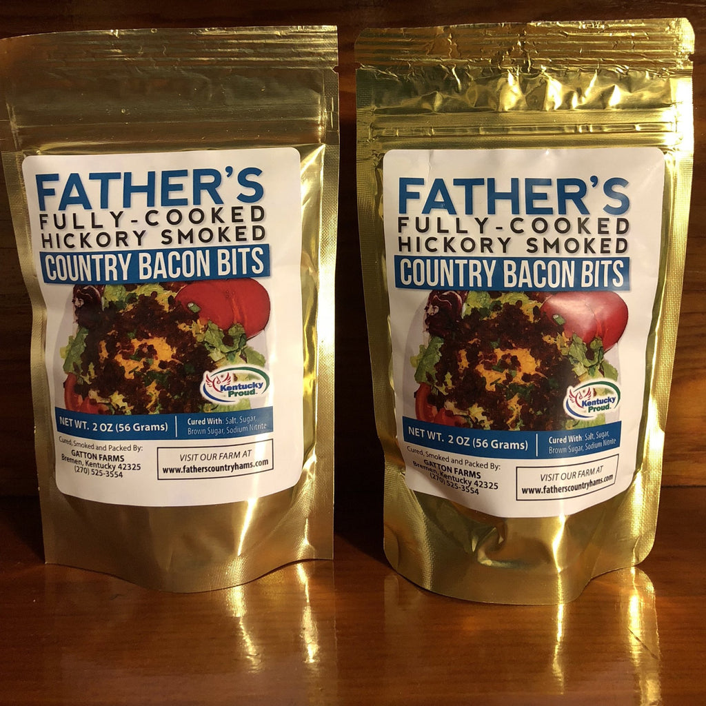 Fathers Fully Cooked Bacon Bits 2oz - FCBB